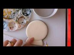 Antiquing Cookies - a video tutorial by @Elizabeth Adams {Arty McGoo}