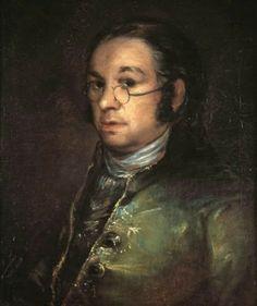 Francisco Goya (Spanish [Romanticism] Self portrait with spectacles, Musée Bonnat, Bayonne, France. This is the dude that got the duchess in the sack! Francisco Goya, Spanish Painters, Spanish Artists, Famous Artists, Great Artists, Art Espagnole, Jean Antoine Watteau, Albrecht Durer, Old Master