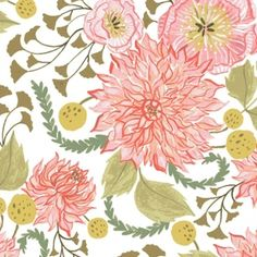 Rae Ritchie - Fable - Fable Floral in White