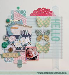 Roebuck Adventures: Laina Lamb - Project Life, Week 29 and a Layout to Share