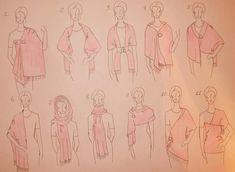 Comment porter Wraps? / Décor / idées de décoration intéressants