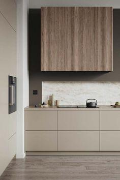 Kitchen Room Design, Modern Kitchen Design, Home Decor Kitchen, Interior Design Kitchen, Home Kitchens, Modern Kitchen Interiors, Kitchen Tools, Interior Design Minimalist, Interior Desing