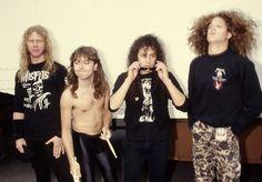 Metallica - I love seeing Jason in Metallica photos
