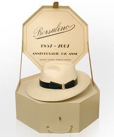 Italian cap vintage hat Borsalino