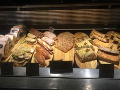In the further end section, they also provide sandwiches which increases the chance of people purchasing their breads.