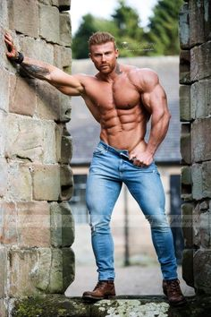 gay mature muscle pants at DuckDuckGo Shirtless Hunks, Ginger Men, Muscle Body, Muscle Man, Muscle Hunks, Hot Hunks, Muscular Men, Male Form, Sexy Jeans