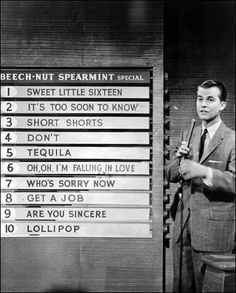 Dick Clark on American Bandstand