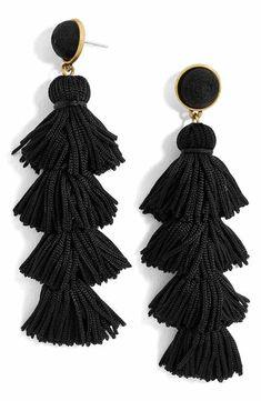 BaubleBar Taylor Tassel Drop Earrings