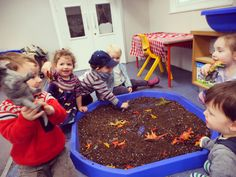 We have been using the children's interests to enhance our play in the Loganberries room. We have now removed the Gardening equipment from our mud and replaced them with our Dinosaurs. The children have very much enjoyed exploring this, and making lots of different dinosaur noises. Some of the children even know the names of the different Dinosaurs. #childrensinterests #Dinosaurs