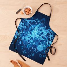 Music Notes, Apron, Finding Yourself, Glow, Women's Fashion, Art Prints, Printed, Awesome, Pattern