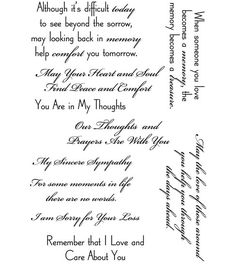 use these sympathy and condolence phrases for your sympathy notes