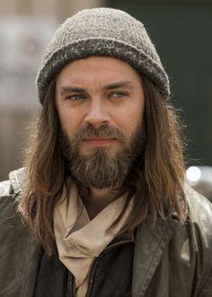 """""""Paul 'Jesus' Rovia in The Walking Dead Season 7 Episode 8   Hearts Still Beating""""   S7E08 Mid-Season Finale - Tom Payne as Paul """"Jesus"""" Rovia"""