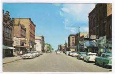 Ashland,Wisconsin 1950s
