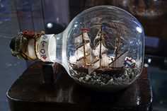 A ship in a bottle by Roni G, via Flickr