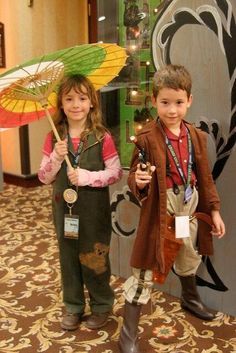 Mini Mal & Kaylee cosplay