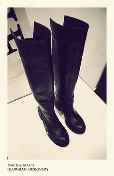 MACH & MACH Natural leather #Winter boots   Tbilisi, Georgia Paliashvili Str 47a #machandmach #shoes
