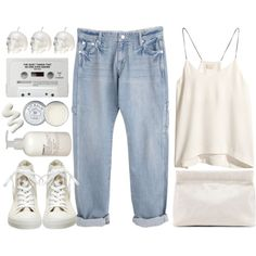 Ocean Spray by vv0lf on Polyvore featuring H&M, Converse, Acne Studios, Jack Wills and Le Labo