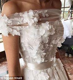 Nadine Nasser-Agha reveals wedding dress trends of 2017 Wedding Dress Trends, Dream Wedding Dresses, Bridal Dresses, Wedding Gowns, Prom Dresses, Dubai Wedding, Tulle Wedding, Summer Wedding, Wedding Dress Trumpet