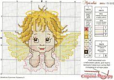 Bildergebnis für heaven and ed Kreuzstich Stitch And Angel, Cross Stitch Angels, Xmas Cross Stitch, Cross Stitch For Kids, Cross Stitch Cards, Beaded Cross Stitch, Cross Stitch Baby, Cross Stitching, Cross Stitch Embroidery