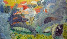 Pierre Bonnard (1867-1947), Vue du Cannet, 1927. Huile sur toile, Paris, musée d'Orsay.