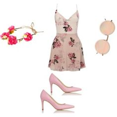Rose Look by me -Polyvore