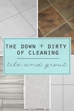 Dirty tile and grout got you down? DIY recipes and tips to the rescue!