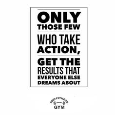 Don't just think about it do it. Take action and don't have any regrets   @profitnessgyms www.profitness.ie