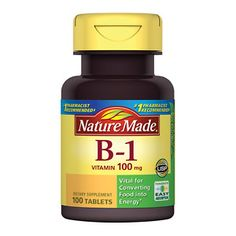 Nature Made Vitamin B-1 Tablets- recommended by Dr. Wider when traveling to Zica areas http://drwider.com/
