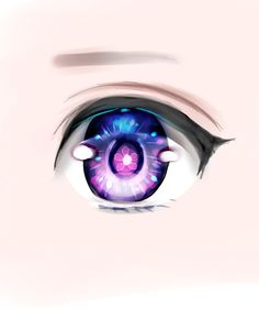 Anime eye example