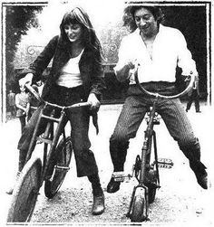 photos on bikes :)