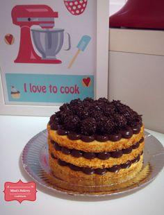 Mini Naked Cake de Brigadeiro |Mimi's Bakery