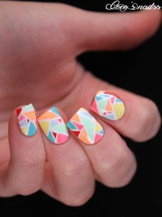Nailstorming - Carnaval - Cocos nails