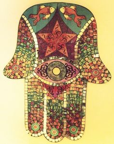 hamsa- protects against the evil eye
