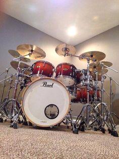Pearl Drums Shared by The Lewis Hamilton Band - https://www.facebook.com/lewishamiltonband/app_2405167945 - www.lewishamiltonmusic.com