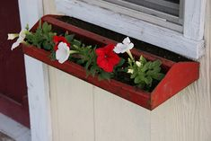 window box is an old toolbox