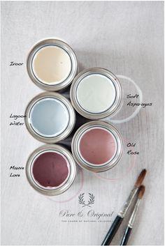 pure & original paint collection spring 2013 http://www.pure-original.nl/verf_kleurenkaart