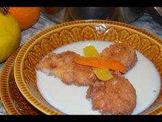 Peyuelas o panes dulces en leche (Receta fácil, de la abuela) - YouTube Arroz Frito, Eggs, Breakfast, Food, Youtube, Gastronomia, Oyster Sauce, Sweet Bread, Breads