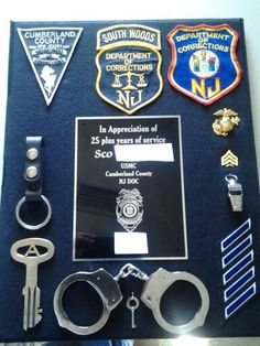 Shadow box correction officer