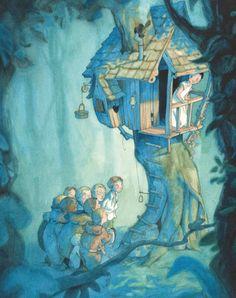 🌿Illustration by Quentin Gréban 🌿best_of_Illustrations ********************* Art And Illustration, Watercolor Illustration, Illustration Children, Book Illustrations, Peter Pan, Art Images, Art For Kids, Book Art, Fantasy Art