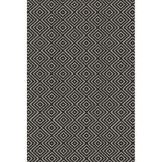 Found it at AllModern - Arenas Hand-Woven Charcoal Area Rug