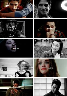 Scott, Stiles, Allison, Lydia, and Derek tumblr #teenwolf