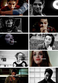 Scott, Stiles, Allison, Lydia, and Derek tumblr #teenwolf