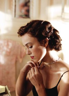Keira Knightley in Atonement(2007).
