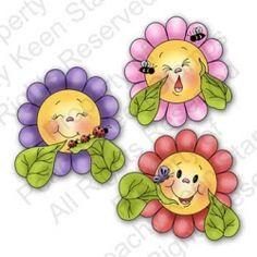 PK-229 Funny Flowers