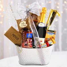Sparkling New Year Gift Basket | Buy at All About Gifts u0026&; Baskets ( & 78 Best Gifts images | Christmas presents Gift ideas Gift Basket