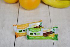 Orange & Banane oder Zitrone? Bei den Superfood Riegeln von NONINU in  2 fruchtigen Sorten mit knackigen Cashews fällt die Entscheidung schwer!