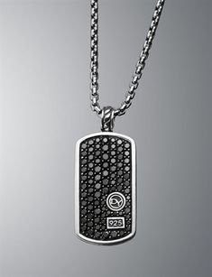 David Yurman Dog Tag.  I have two and I'm looking for #3...