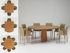 Modern Expandable Dining Table modern extendable dining tables - modern extension tables