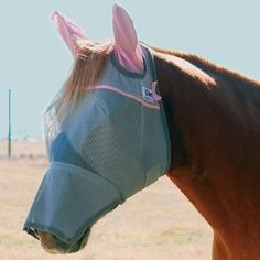 Cashel Breast Cancer Long Nose Fly Mask w/Ears Ara by Cashel. $28.99. Cashel Crusader Breast Cancer Long Nose Fly Mask with Ears The Crusader Fly Mask, with its patented three-hole cap eliminates forelock damage and ensures comfort with its unique design that stays put while your horse is stalled or turned out in the pasture. Soft coated nylon micro mesh blocks 70% of the sun's damaging UV rays and protects the sensitive, soft tissues of the eyes and forehead. Th...