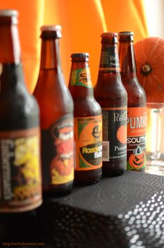 So many delicious pumpkin beers!